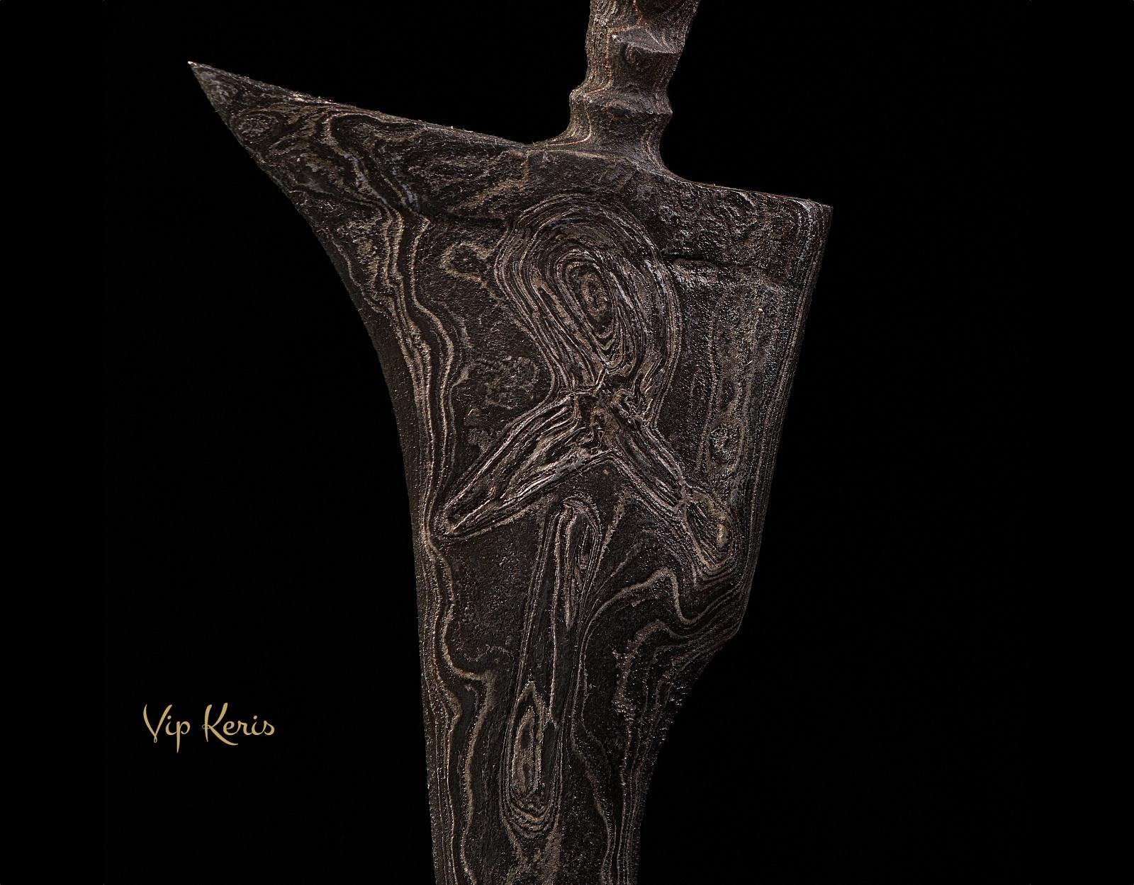 Кинжал Крис Putut Sajen Luk5, Волшебник Наставник фото VipKeris